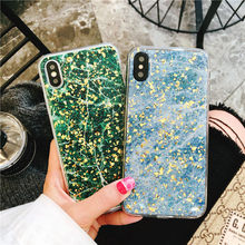 For iPhone 6 6S Plus Cases Fashion Luxery Classic Marble Platinum Glitter  Gold Bling Soft Phone Case For iPhone 7 8 plus X Cover 93a511e7909a