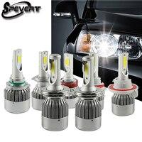 Spevert 110 واط 20000LM سيارة أدى المصباح عدة لمبات h4 h7 9004 9007 h13 h1 h3 h8 h11 9005 hb3 9006 hb4 881 السيارات led رئيس مصباح