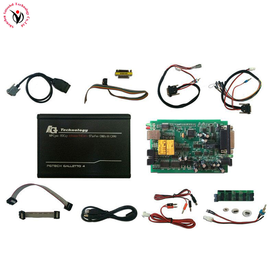 DHL Latest V54 FGTech Galletto 4 Master+Good PCB Board BDM-TriCore-OBD Function FG Tech V54 ECU Chip Tuning Programmer Tool dhl free fgtech galetto 4 master ecu chip tuning tool newest version fg tech v54 bdm tricore with compass as gift
