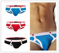 Newest Style 4 Colors Size S~XL Sexy Men Underwear Cotton Briefs Pouch Slip Cueca Gay Underwear Breathable Pants Hot Sale