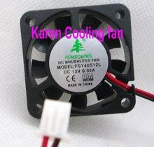 Бесплатная доставка fonsoning вентилятор 4010 12 В 0.05A 4500 DVR FSY40S12L Вентилятор охлаждения