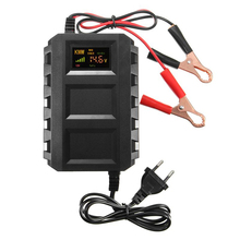 Universal Intelligent 12V 20A Automobile Battery Lead Acid Battery Charger Car Motorcycle EU Plug [sgdoll] 12v 24v10a intelligent pulse car motorcycle battery lead acid charger 50 60hz 16010804