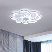 Modern fashion Ceiling Lights for living room bedroom Lighten your home in a simple style ceiling lamp led strip white windmill