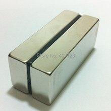 10 шт. блок 50x20x10 мм N50 Супер Сильные редкоземельные магниты неодимовый магнит Высокое качество