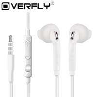 Sports Headphone 3.5mm Headset Earphones with HD Mic Earphone Earbuds for Samsung Galaxy S6 iPhone LG fone de ouvido