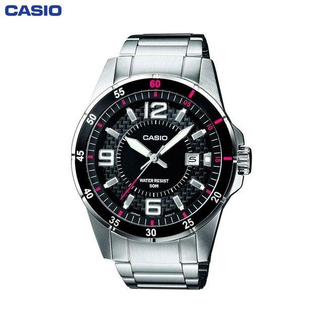Наручные часы Casio MTP-1291D-1A1 мужские кварцевые на браслете