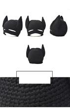 Hot Handmade Winter Beanie Crochet Cool Batman Mask Knitted Hats Helmet EarFlap Men Women Winter Caps Party Gifts gorros