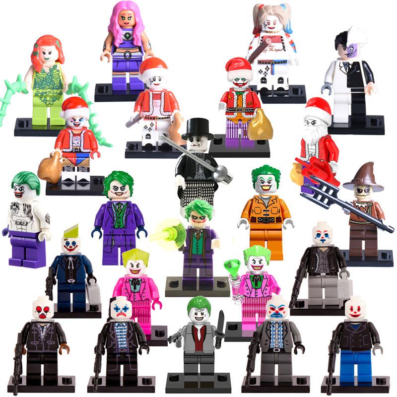 Building Blocks Joker Harley Quinn diy figures Superheroes Suicide Squad Star Wars Hobbit X-men Bricks Kids DIY Educational Toys building blocks calendar people joker harley quinn 2017 batman movie diy figures superhero deadpool bricks kids diy toys hobbies
