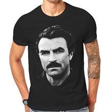 5469fc5ac Magnum T Shirt Tom Selleck TV Star Celebrities Mens Large New Tee Shirts 3-A