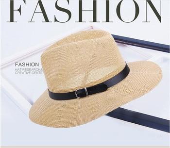 baef92f5e2c22 Primavera de 2019 sombreros de vaquero occidental cinturón de moda Sombrero  de vaquero negro para los hombres y las mujeres Sombrero de Hombre