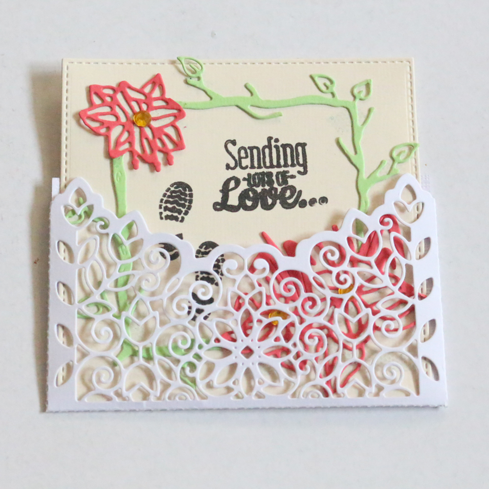 Flower Metal Cutting Dies Lace For Diy Scrapbooking Greeting Cards