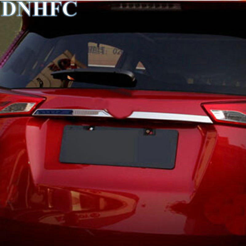 DNHFC After molding trunk decorations After article bright Modified special car styling for toyota RAV4 2014 2015
