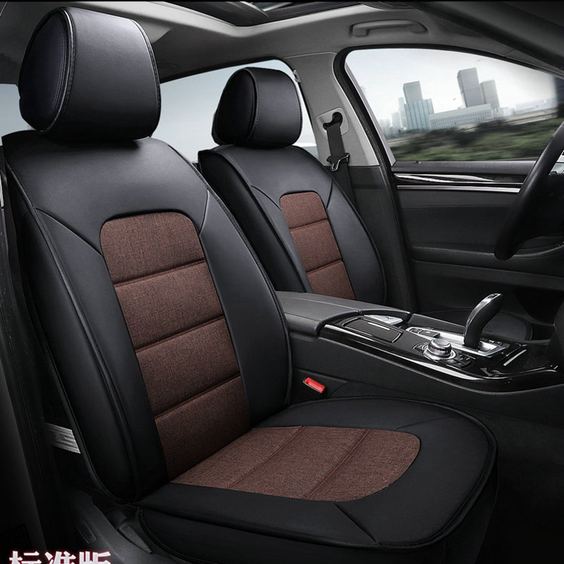 car seat cover leather flax covers for car seats for bmw x1 X6 g30 mercedes AUDI A6L mazda cx 5 Kia K2 K3 K4 K5 pajero sport car seat cover leather flax covers for car seats for bmw x1 x6 g30 mercedes audi a6l mazda cx 5 kia k2 k3 k4 k5 pajero sport