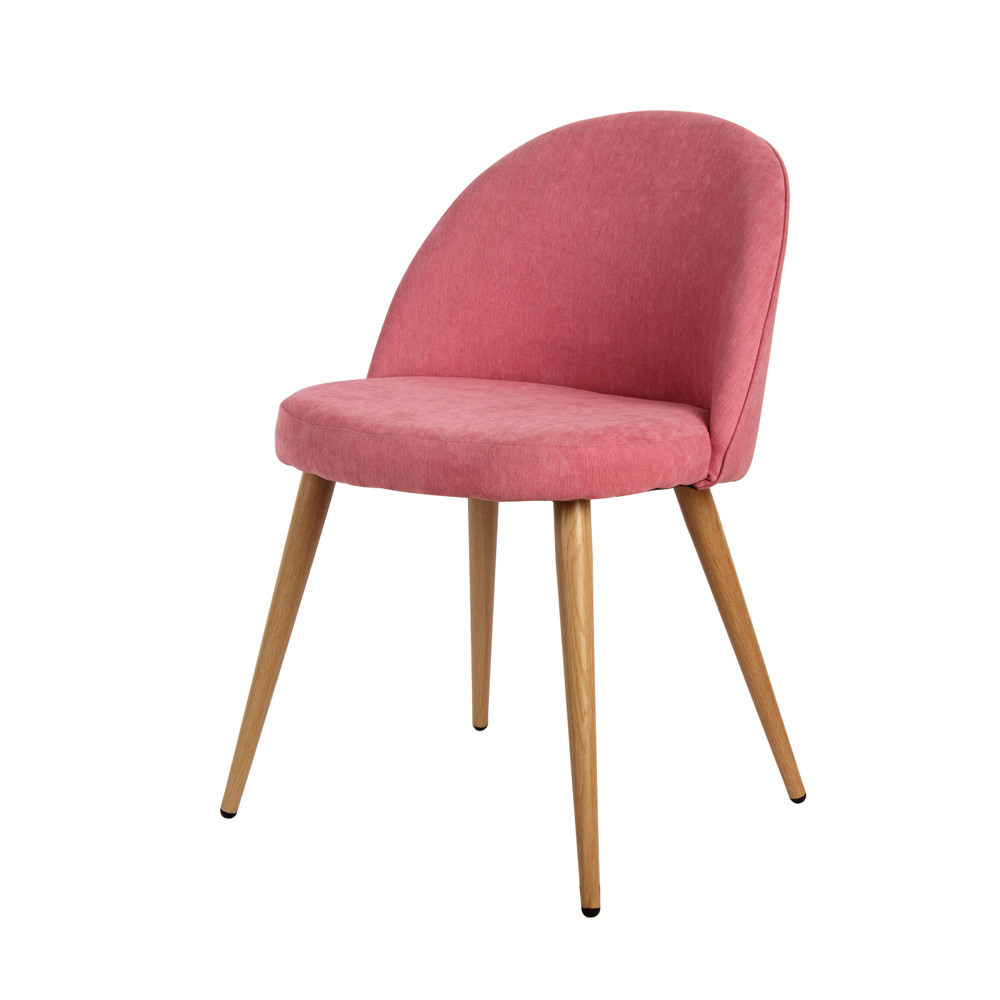 4 Pieces Per Set Pink/White Metal Legs Armless Chair Dining Chair Side Chair  Home Furniture Stock In US In Dining Chairs From Furniture On  Aliexpress.com ...