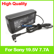 For Sony 19.5V 7.7A 150W laptop AC adapter charger ADP-150TB