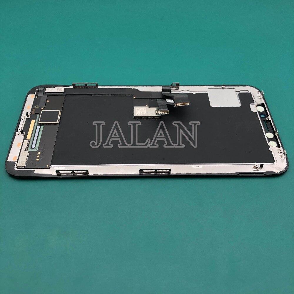 LCD Digitizer avec cadre pour iphone x/10 affichage remplacement mobile de réparation rénover 100% marque nouvelle qualité originale