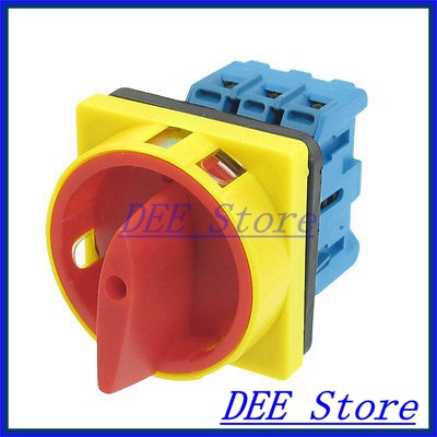 600V 32A AC 2 Position Rotary Cam 6 Terminals Universal Combination Switch cenmax vigilant v 6 a