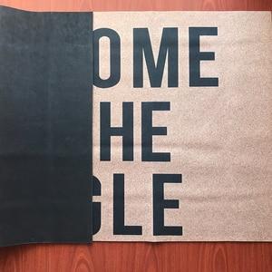 Image 3 - Дверной коврик, входной напольный коврик, добро пожаловать в джунгли, Забавный Домашний напольный коврик