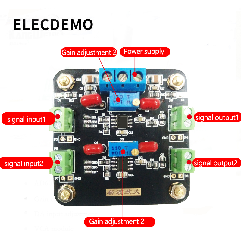 Image 3 - ICL7650 Module Weak Signal Amplification DC Signal Amplification Chopper Amplifier Dual-in Demo Board Accessories from Computer & Office