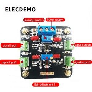 Image 2 - Moduł ICL7650 wzmocnienie słabego sygnału wzmacniacz sygnału DC wzmacniacz Chopper Dual