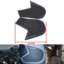 Knight For Yamaha MT-09 MT09 MT 09 2014 2015 Protector Anti slip Tank Pad Sticker Gas Knee Grip Traction Side Pad 3M Decal for yamaha mt 09 mt09 mt 09 2014 to 2017 2018 motorcycle protector anti slip tank pad sticker gas knee grip traction side decal