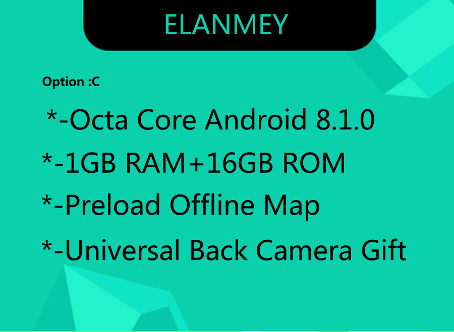 Sale Elanmey GPS 8-Core Bluetooth stereo android 8.1.0 car multimedia player for Subaru Forester 2015 multimedia radio no DVD Player 3