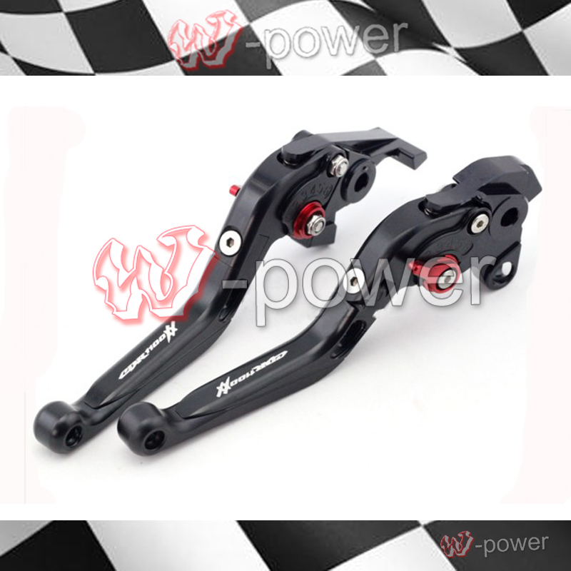 ФОТО fite For HONDA CBR 1100XX 1997-2007 Black Motorcycle Adjustable Fold-Out Extendable Brake Collar logo CBR1100XX