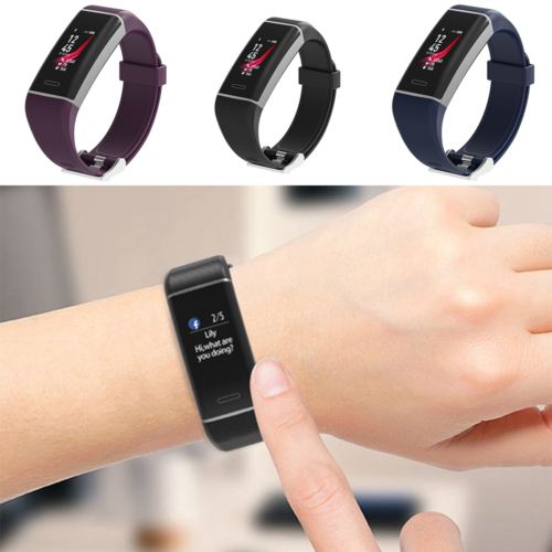 Bluetooth Smart Watch Women Fitness Heart Rate Monitor Men Sport Bracelet Wristband For IOS Android Waterproof Touch Screen New