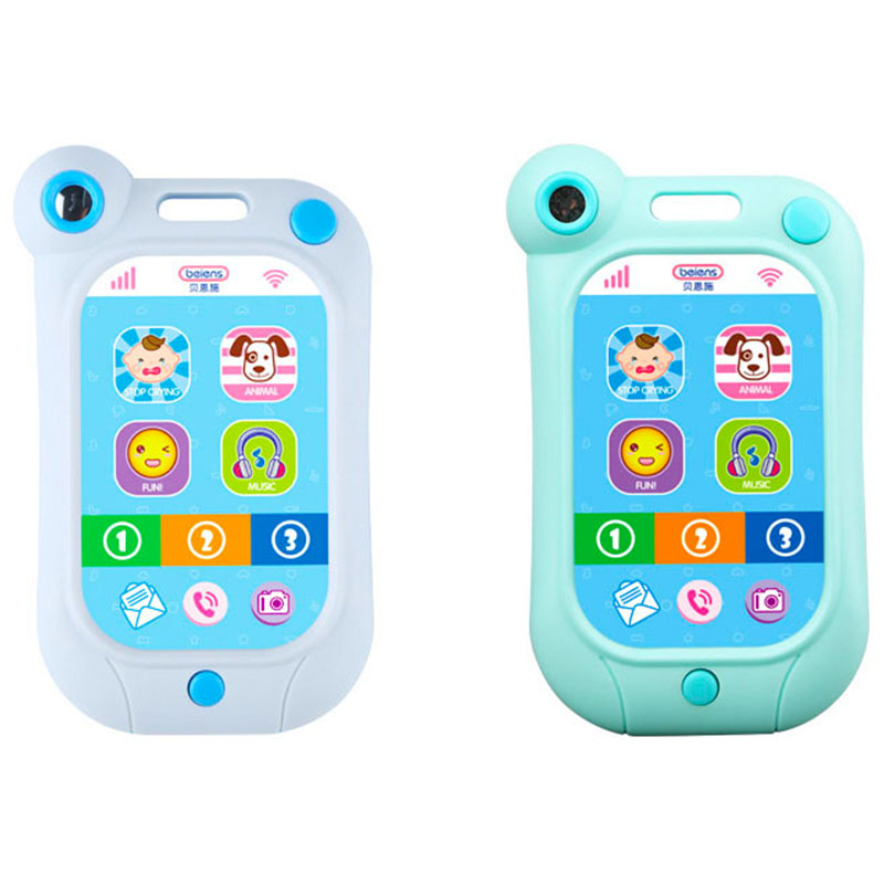 Baby Toy Phone Learning Study Musical Sound Cell Phone Songs Animal Sounds Fun Toy Mobilephone Children Educational Toy