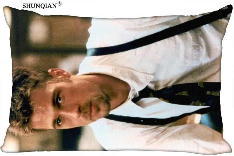 Federe Cuscini Su Misura.Custom Brad Pitt Rettangolo Federa Cerniera Coperture Per Cuscini
