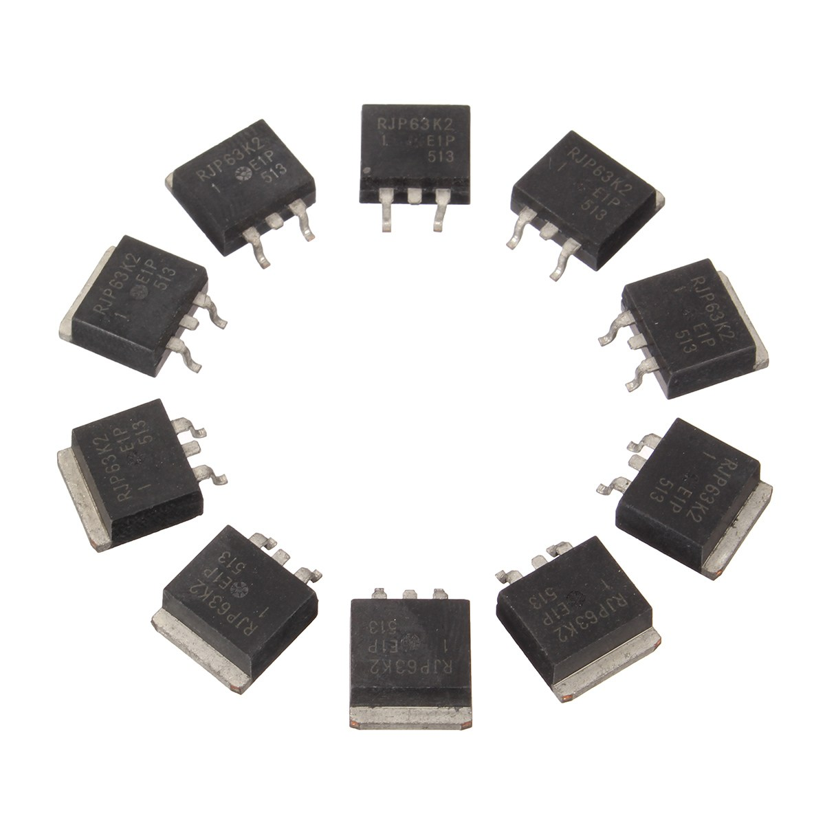 10pcs Hot Sale Rjp63k2 To 263 63k2 To263 Ic Chip Integrated Circuits Circuit Electronic Components In From Supplies On