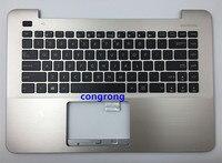 US laptop tastatur mit palmrest ober fall für ASUS F455 A455L K455 X455L R455L W419L Y483L splitter gold schwarz weiß rot Computergehäuse und -tower Computer und Büro -