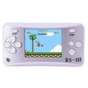 Image 5 - ES 9 2.5LCDD Palmare Console di Gioco per I Bambini Costruito in 168 Old School Giochi Retro Arcade Giocatori di Gioco del Ragazzo Di Compleanno regalo