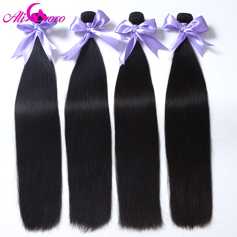 Brasilianisches gerades Haar Ali Coco Hair, das 100% - Menschenhaar (für Schwarz) - Foto 2