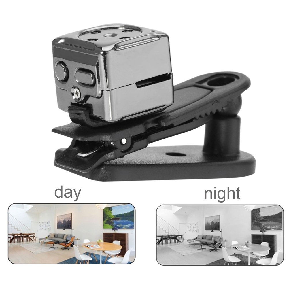 2017 NEW Panorama Camera Night Vision Camera Video Camcorder Mini DV Full HD 30FPS Sports DV Support Memory Card