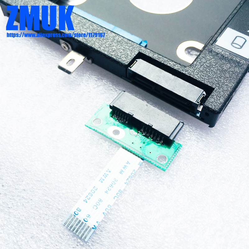 Nova marca Adaptador HDD SSD Caddy w/ODD Kit Board Para Lenovo Ideapad 100-15IBD Laptop, p/N NS-A681 5C50K25457