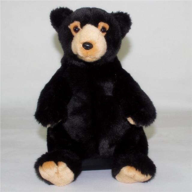 North American Black Bear Doll Toy Simulation Wildlife Plush Toys