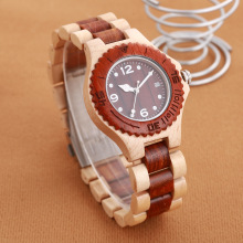 Natural Wood Watch Unisex Men Women Top Brand Luxury Lightweight Waterproof Wooden Date Wristwatch Relogio Feminino Masculino