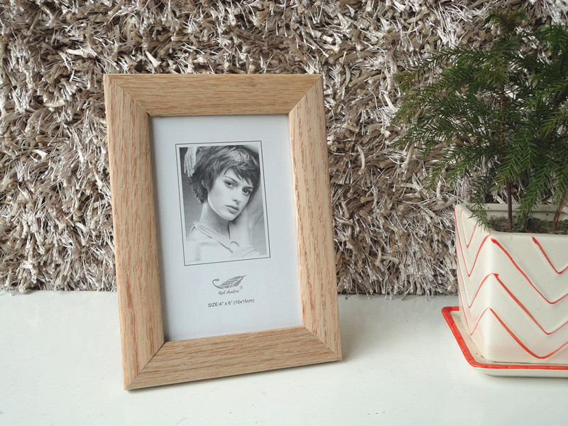 Wood Cardboard photo frames wholesale 4x6
