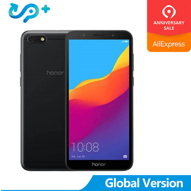 """Huawei Honor 7S Global Version 13MP 5MP Dual Camera Mobilephone Quad Core Android 8.1 3020mAh 2GB 16GB 5.45"""" Fullview Display"""
