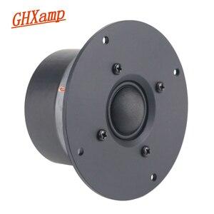 Image 1 - GHXAMP 4 Inch 4Ohm 25W Dome Tweeter Speaker Unit Silk Treble DIY Film Home Theater Audio Sound High Frequency HIFI 2018 1PCS
