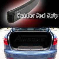 450cm 180 Flexible Car Door Edge Protector Guard Black Rubber Air Seal Strip U Channel Edging Universal Hardwearing 03