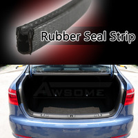 450cm 180 Flexible Car Door Edge Protector Guard Black Rubber Air Seal Strip U Channel Edging Universal Hardwearing 03