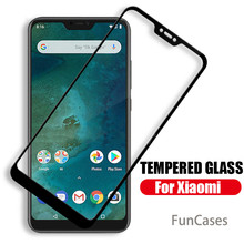 Protective glass for xiaomi mi a2 lite a2 6x 5x mi 8 lite pocophone f1 play glas on ksiomi xiomi mi8 mia2 poco mia 2 light film(China)