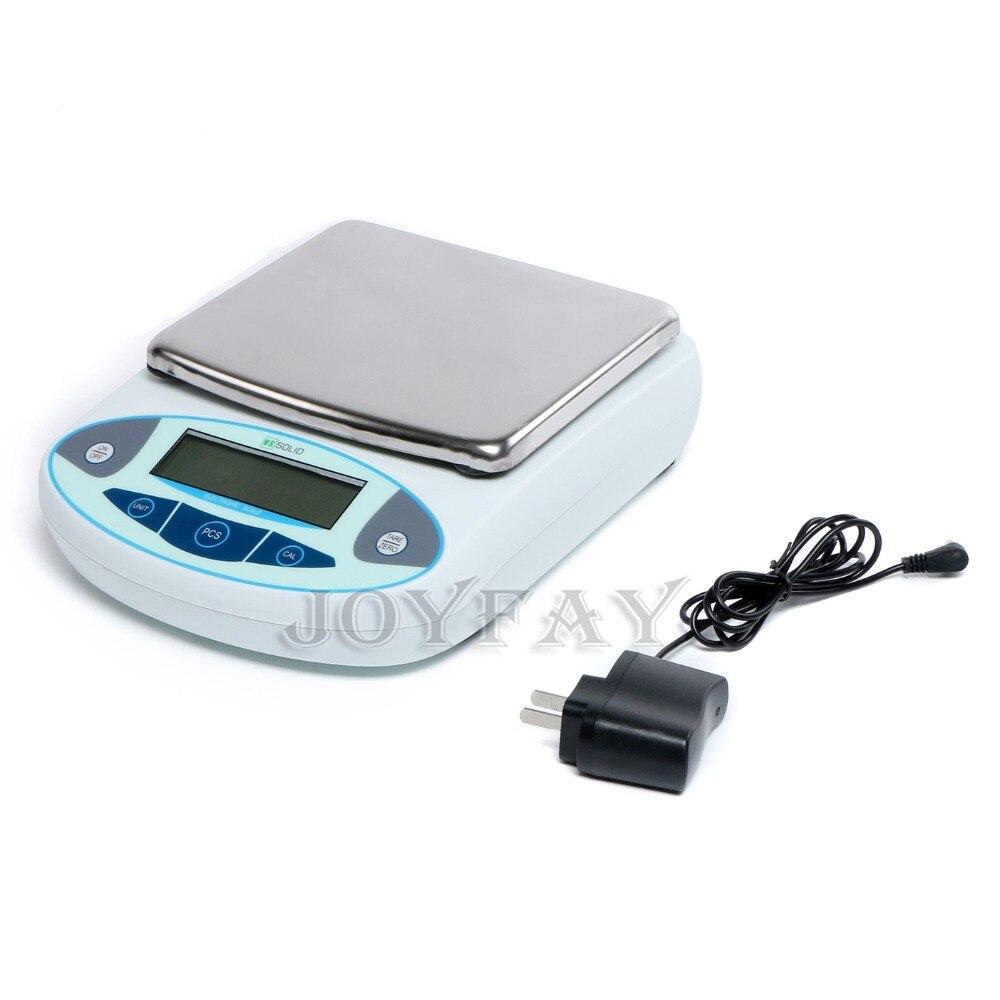 STATI UNITI Solido 5000x0.01g 10 mg Bilancia Analitica Lab laboratorio Elettronico Digitale di Precisione Peso Bilancia