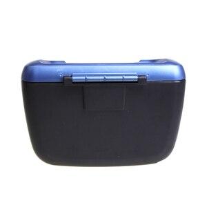 Image 5 - 1 pçs carro de lixo para automóvel balde de armazenamento de lixo auto lata de lixo caixa de lixo caso organizador do carro acessórios do carro estilo