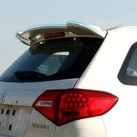 For Suzuki Vitara Spoiler 2016 Car Tail Wing Decoration Accessories ABS Plastic Unpainted Primer Color Rear Trunk Roof Spoiler