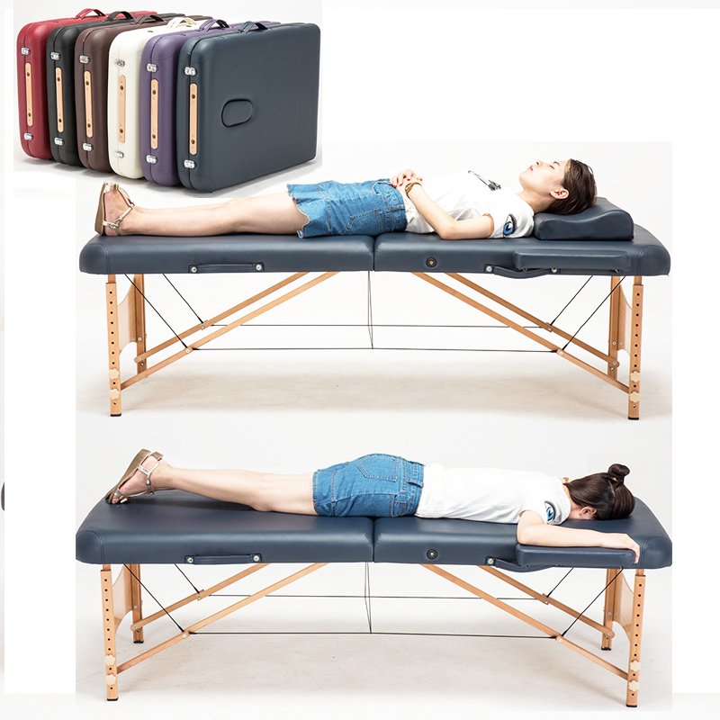 Massage&Relaxation Portable Relaxing Body Massage Bed Table Face Cradle SPA Tattoo Folding Salon Furniture Wooden Massage Bed цена