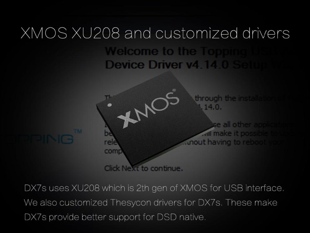 TOPPING DX7s 32Bit/768K DSD512 Full balanced USB DAC Amplifier-05