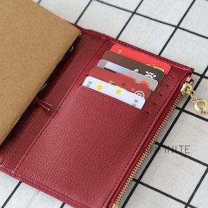 Image 3 - Yiwi 100% Genuine Leather Notebook 9x12.5cm Passport Handmade Vintage Cowhide Diary Travel Journal Sketchbook Planner Gift